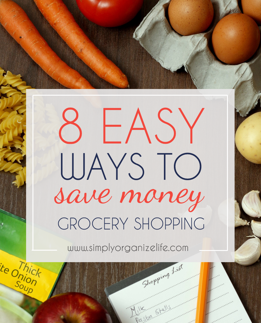 8 Ways to Save Money when Grocery Shopping