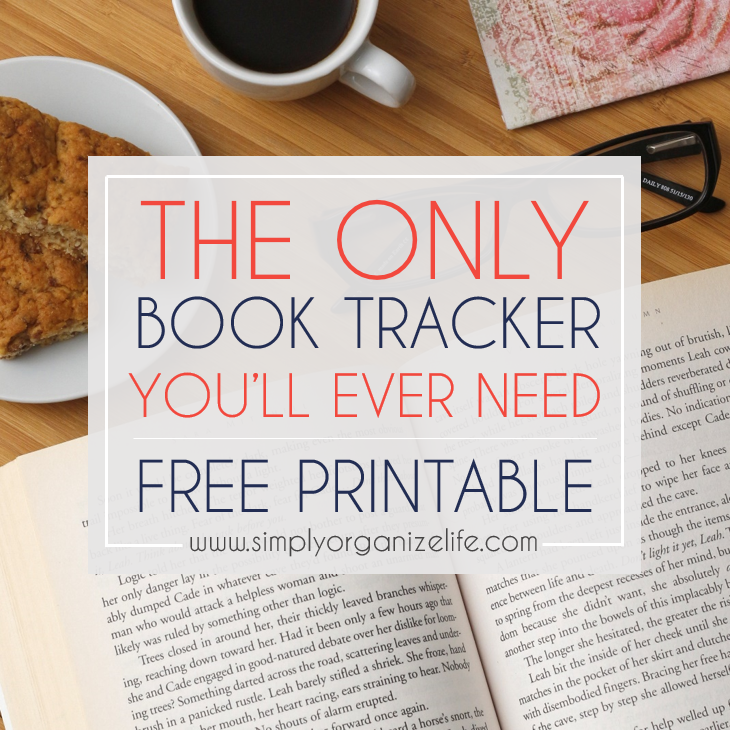 Easy Book Tracking Sheet for Avid Readers [FREE PRINTABLE]