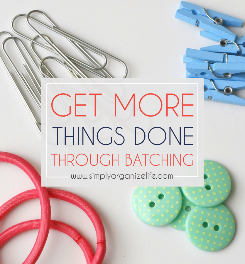 How to Get More Things Done // The Art of Batching