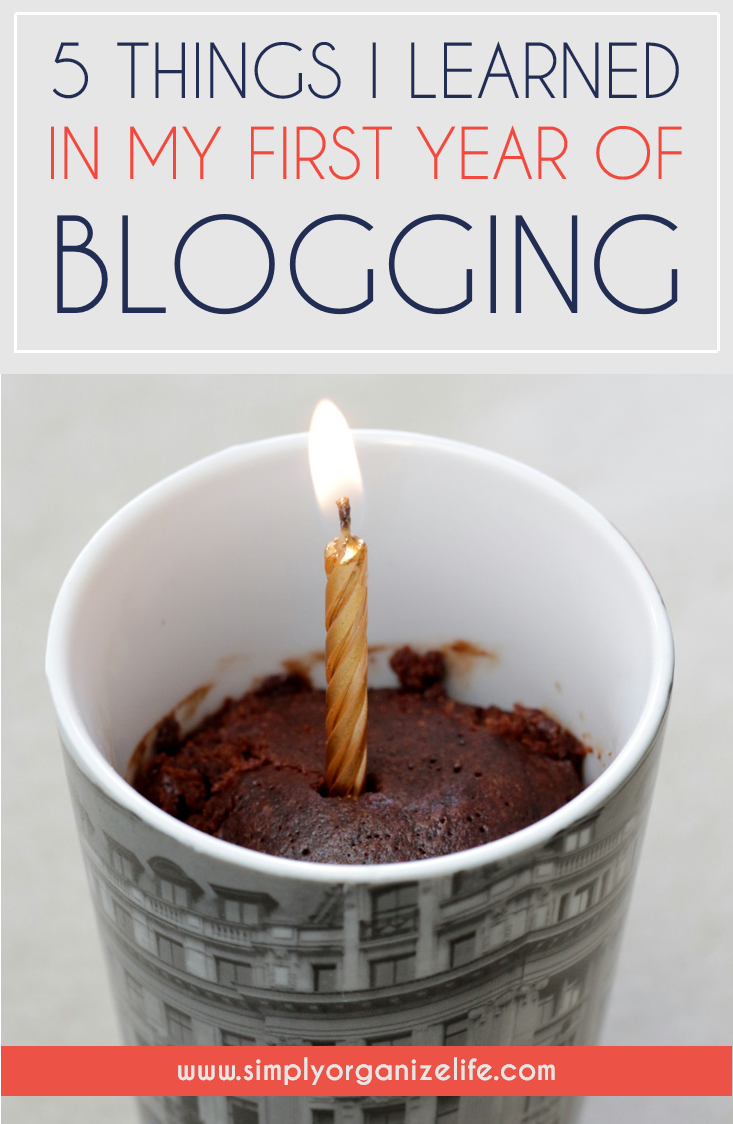 5 Things I Have Learned About Blogging & My 1st Year Blogiversary
